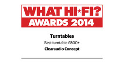 What HiFi Best Turntable 2014